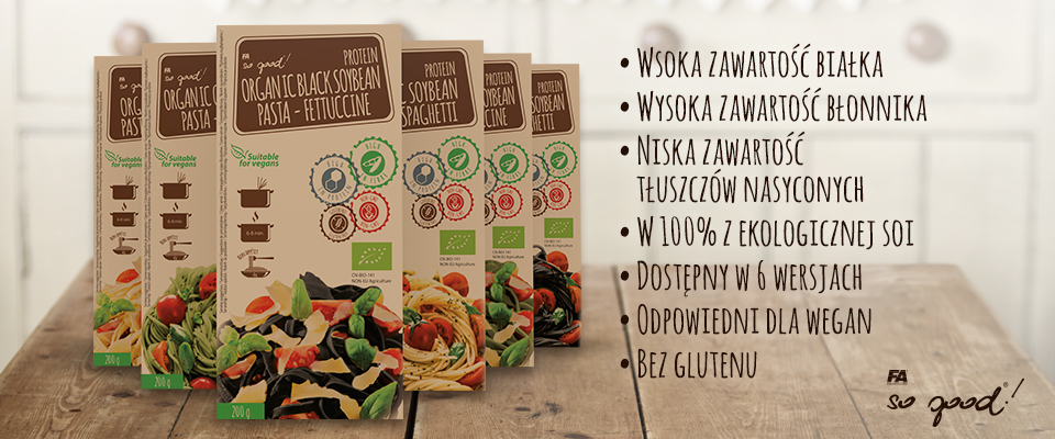 So Good!® Protein Organic Soybean Pasta