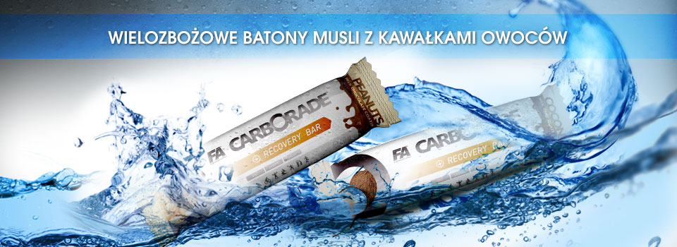 Carborade® Recovery Bars