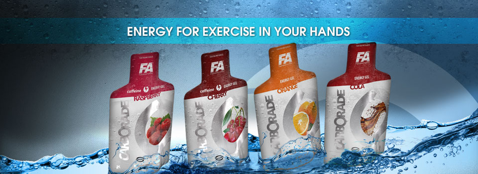 Carborade® Energy Gel with Caffeine