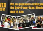 BodyPower Expo 2014 Birmingham